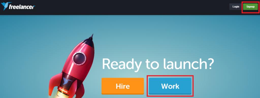फ्रीलांसर पर अपने खाते बनाएँ (Create your account at Freelancer.com)