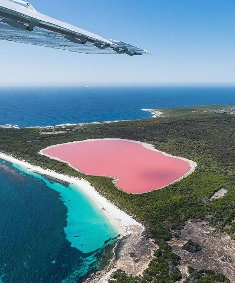 हिलियर झील(गुलाबी झील) का रहस्य